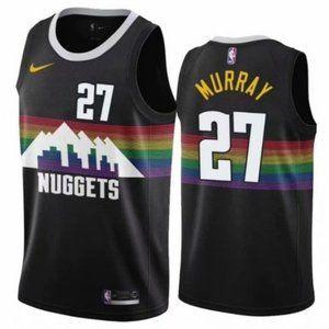 Mens Denver Nuggets Jamal Murray Jersey